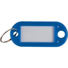 Sleutelhanger Q-Connect blauw (10)