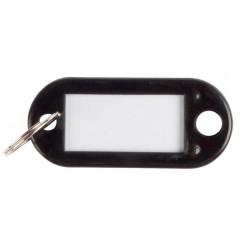 Sleutelhanger Q-Connect zwart (10)