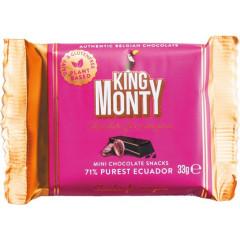 Chocoladereep King Monty Pure Ecuador 33g (12)
