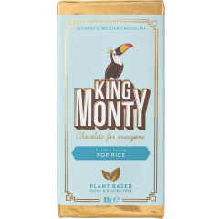 Chocoladereep King Monty Pop Rice 90g (12)