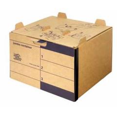 Archiefcontainer Loeffs jumbo 42,5x28x40cm bruin (15)