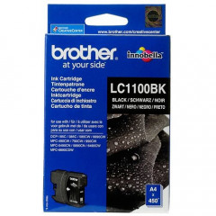 Cartridge Brother Inkjet LC1100 DCP-385C 450 pag. BK
