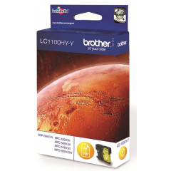 Cartridge Brother Inkjet LC1100HY DCP-6690CW 750 pag. YEL