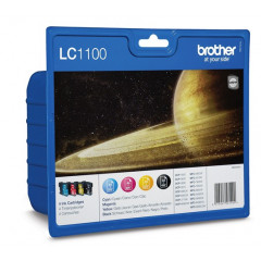 Cartridge Brother Inkjet LC1100 DCP-385C 450 pag./325 pag. VALUE PACK BK/C/M/Y