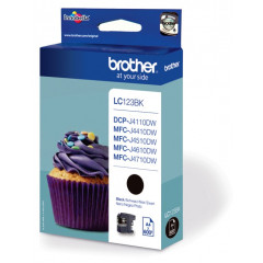 Cartridge Brother Inkjet LC123 DCP-J132W 600 pag. BK
