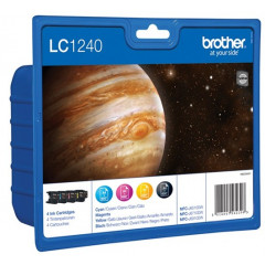 Cartridge Brother Inkjet LC1240 DCP-J525W 600 pag. VALUE PACK BK/C/M/Y