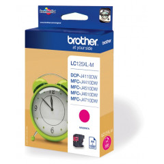 Cartridge Brother Inkjet LC125XL DCP-J4110DW 1.200 pag. MAG