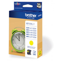 Cartridge Brother Inkjet LC125XL DCP-J4110DW 1.200 pag. YEL