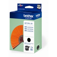Cartridge Brother Inkjet LC129XL MFC-J6520DW 2.400 pag. BK