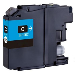 Cartridge Brother Inkjet LC12E MFC-J6925DW 1.200 pag. CY