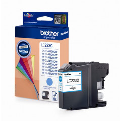 Cartridge Brother Inkjet LC223 DCP-J562DW 550 pag. CY