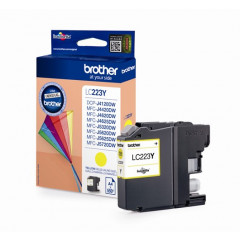 Cartridge Brother Inkjet LC223 DCP-J562DW 550 pag. YEL
