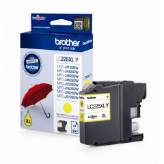 Cartridge Brother Inkjet LC225XL DCP-J4120DW 1.200 pag. YEL