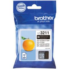 Cartridge Brother Inkjet LC3211 MFC-J491DW 200 pag. BK