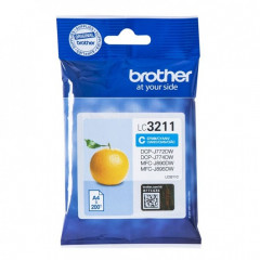 Cartridge Brother Inkjet LC3211 MFC-J491DW 200 pag. CY