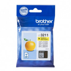 Cartridge Brother Inkjet LC3211 MFC-J491DW 200 pag. YEL