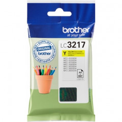 Cartridge Brother Inkjet LC3217 MFC-J5330DW 550 pag. YEL