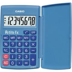 Zakrekenmachine Casio petite fx blauw