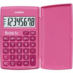 Zakrekenmachine Casio petite fx roze