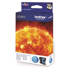 Cartridge Brother Inkjet LC980 DCP-145C 260 pag. CY