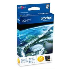 Cartridge Brother Inkjet LC985 DCP-J125 260 pag. YEL
