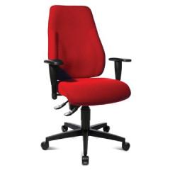 Bureaustoel Topstar lady sitness rood