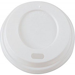 Deksel Coffee To Go PP Ø66,04mm wit (100)