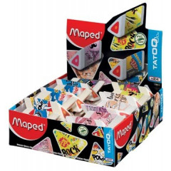 Potloodgom Maped tatoo pyramide assorti (24)