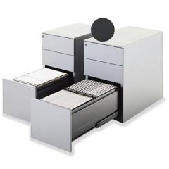 Ladenkast op voet Mobo 2+1 laden antraciet