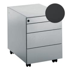 Ladenkast op wielen Mobo 3+1 laden antraciet