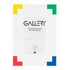 Millimeterpapier Gallery A3 80gr 50 vel