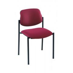 Bezoekersstoel mea 200 rood