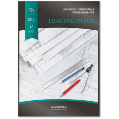 Millimeterpapier Aurora A3 90g 50vel
