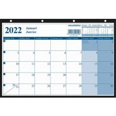 Kalender Aurora Monthly 290x210mm 2022