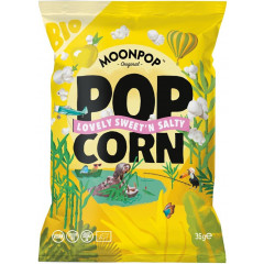 Popcorn Moonpop Sweet 'n Salty 35g (16) VEGAN