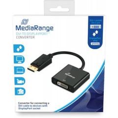 Omvormer Mediarange DVI-I-contrastekker (24+5-polig) naar DisplayPort-stekker