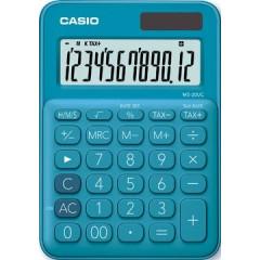 Bureaurekenmachine Casio MS-20UC blauw