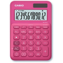 Bureaurekenmachine Casio MS-20UC rood