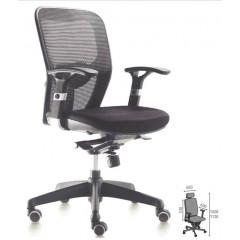 Bureaustoel napoli zwart