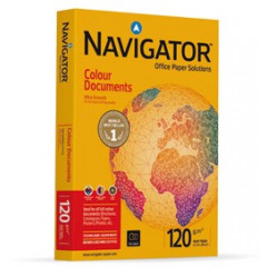 Navigator colour documents DIN A4 120gr wit - FSC Mix 70%