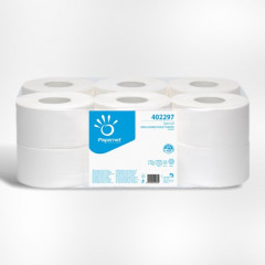 Toiletpapier Papernet mini jumbo 2-laags (12)