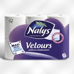 Toiletpapier Lotus Nalys velours 3-lag (4x6R)(O414819)