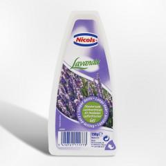 Luchtverfrisser Nicols Gel Lavendel 150g