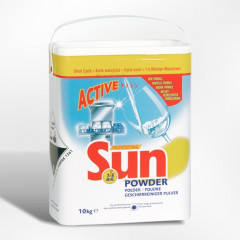 Vaatwaspoeder Sun professinoal korte cyclus 10kg