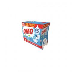 Wasmiddel OMO Professional Active Clean voor witte was 7.5l