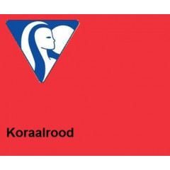 Clairefontaine DIN A3 160gr koraalrood (250) - FSC Mix credit