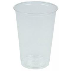 Drinkbeker PLA 200ml wit voor koude dranken (biol; afbreekb)(100)