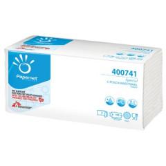 Handdoek Papernet special wit 2-laags C-vouw 144vel