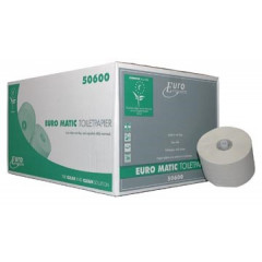 Toiletpapier Europroducts 1-laags met dop 150 meter eco (36)