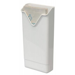 Dispenser Europroducts voor hygiënezakjes 290x135x60mm wit